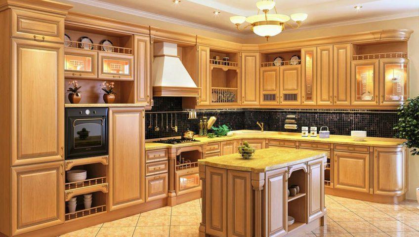 Заказать кухню из дерева в Екатеринбурге
