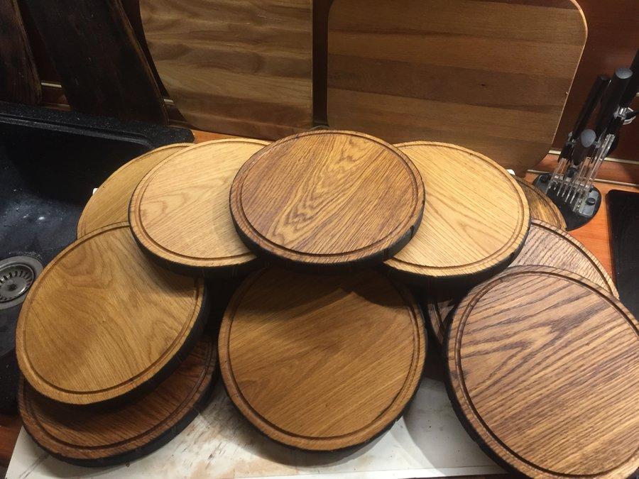Деревянные доски для подачи блюд в Екатеринбурге - столярная мастерская Treelogia