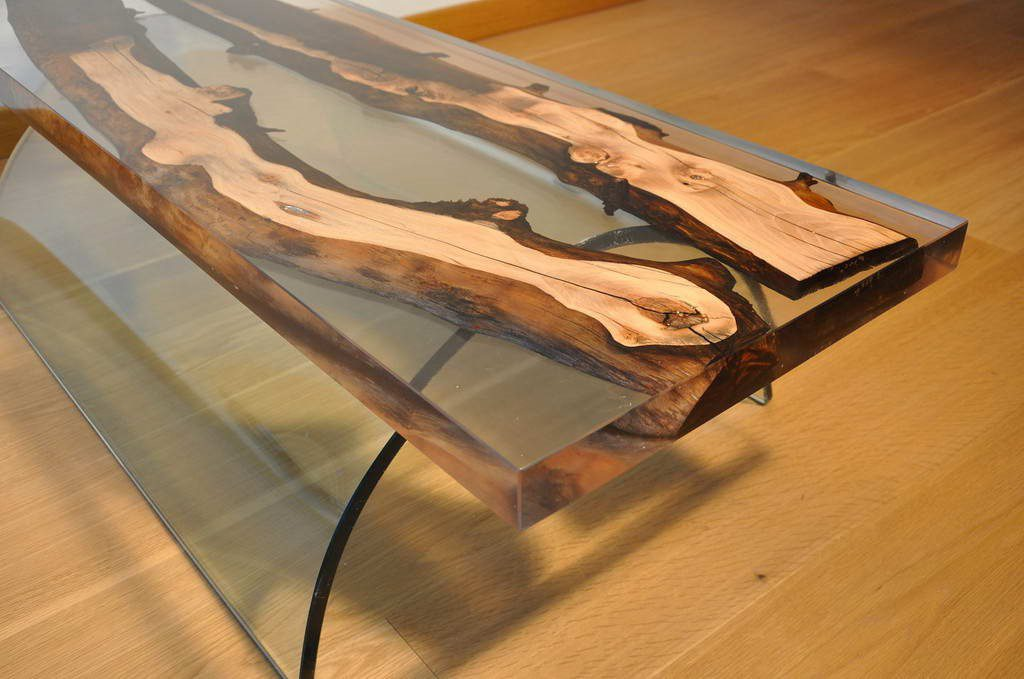 Заливной стол на заказ в Екатеринбурге - столярная мастерская Treelogia