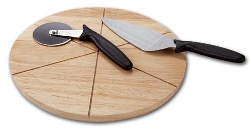 Доска для подачи пиццы на заказ в Екатеринбурге в столярной мастерской Treelogia