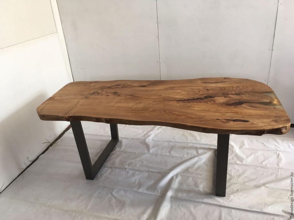 Изготовление столов из слэбов в Екатеринбурге - столярная мастерская Treelogia