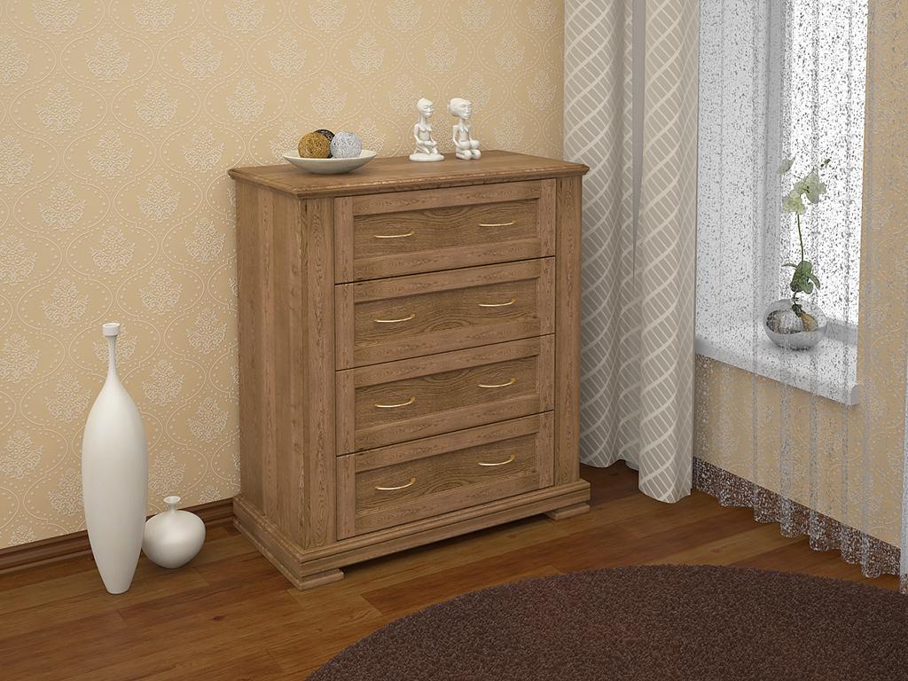 Изготовление комодов из дерева на заказ в Екатеринбурге - столярная мастерская Treelogia