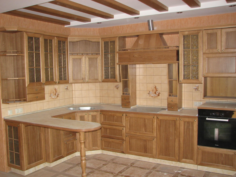 Изготовление кухни из дерева на заказ в Екатеринбурге - столярная мастерская Treelogia
