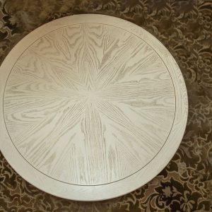 Круглый стол на заказ - столярная мастерская Treelogia