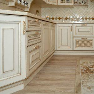 Кухня изготовленная в столярной мастерской в Екатеринбурге - столярная мастерская Treelogia