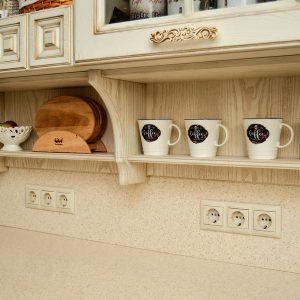 Кухня по индивидуальным размерам под заказ - столярная мастерская Treelogia