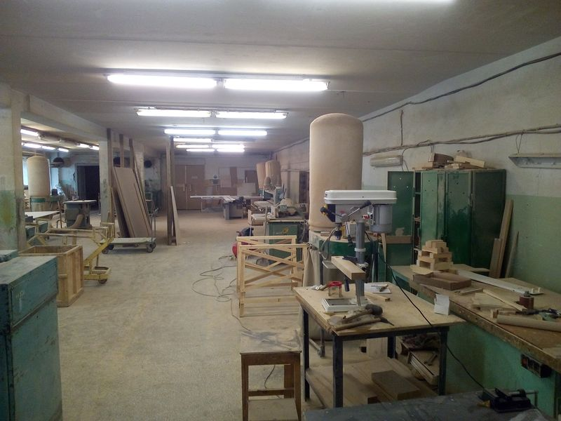 Недорогая столярная мастерская
