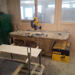 Новый станок в нашей столярной мастерской