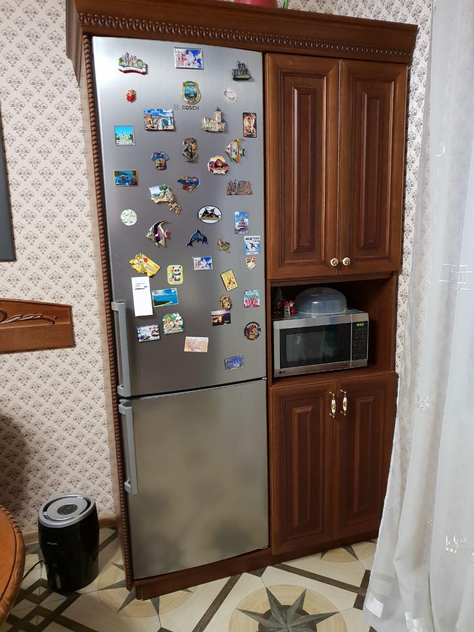 Шкаф под холодильник и посуду под заказ
