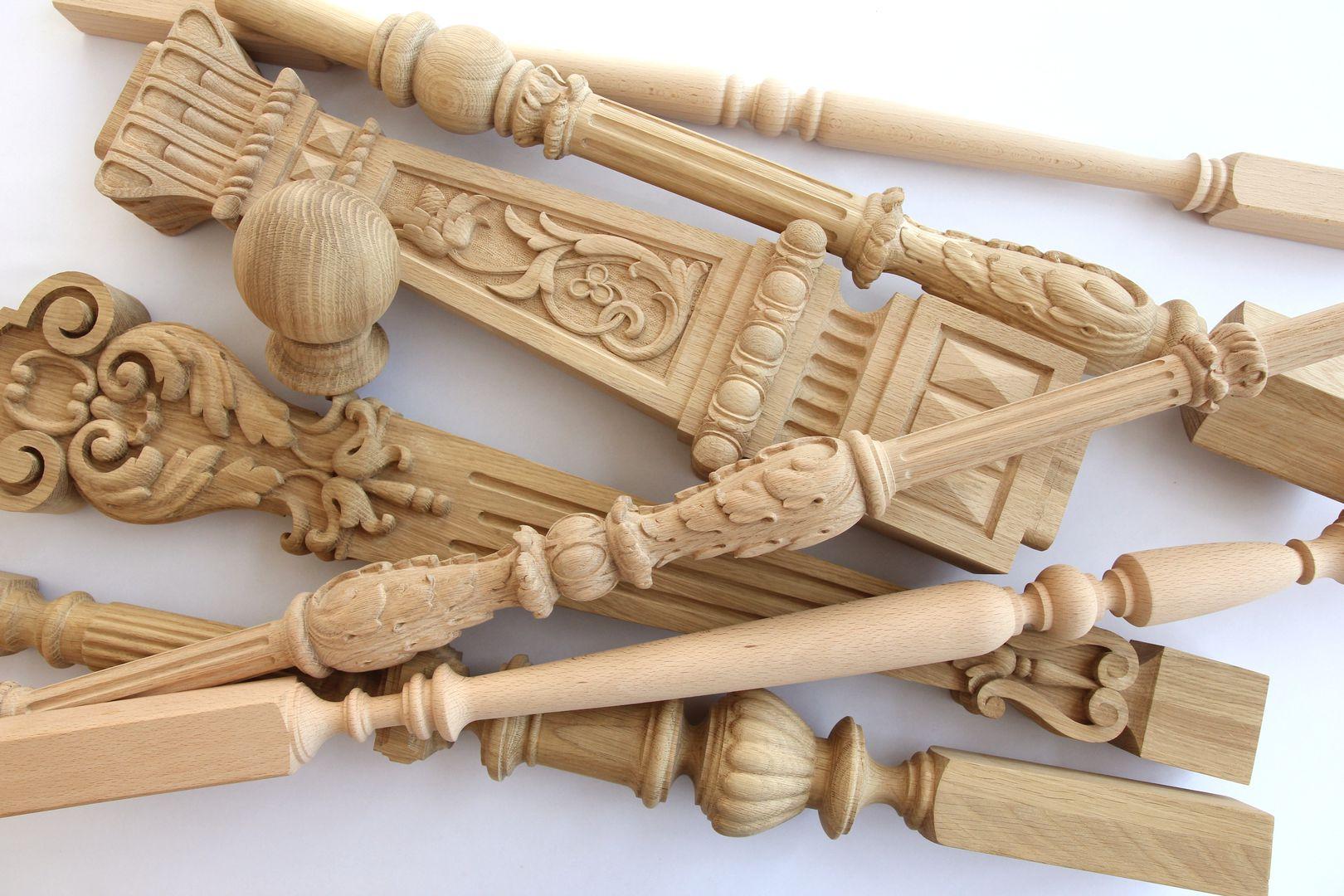 Изготовление балясин из дерева в Екатеринбурге - столярная мастерская Treelogia