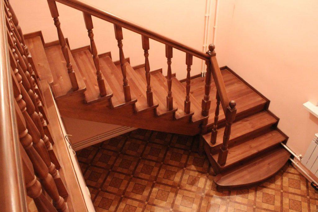 Деревянные лестницы под заказ в Екатеринбурге - столярная мастерская Treelogia