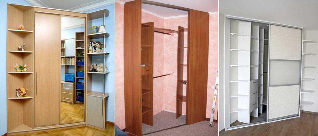 Виды шкафов