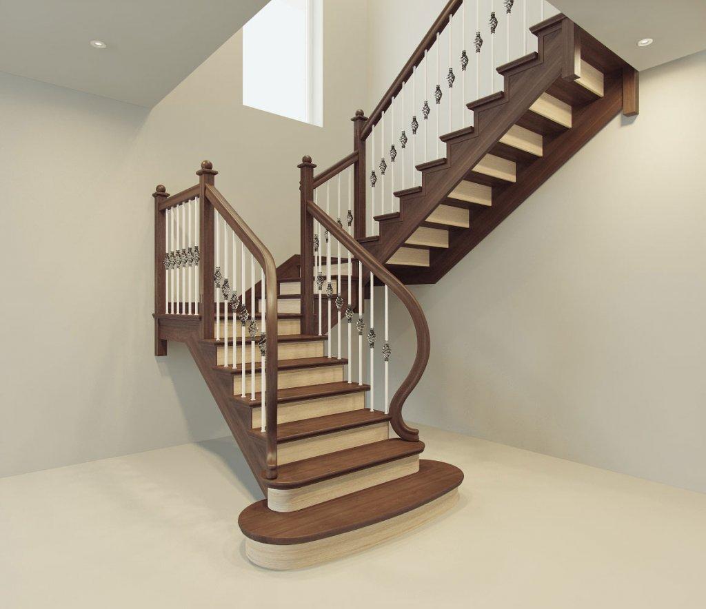 Заказать деревянную лестницу в Екатеринбурге - столярная мастерская Treelogia