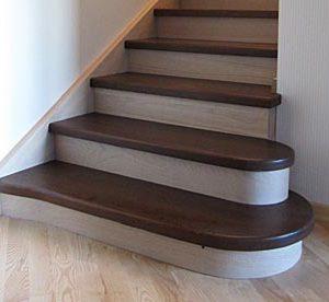 Изготовление ступеней для лестниц из дерева