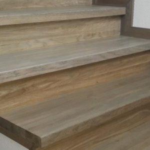 Изготовление ступеней из дерева