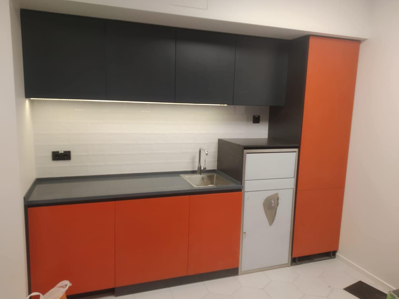 Дизайнерская офисная кухня