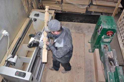 Изготовить балясины в Екатеринбурге - Treelogia