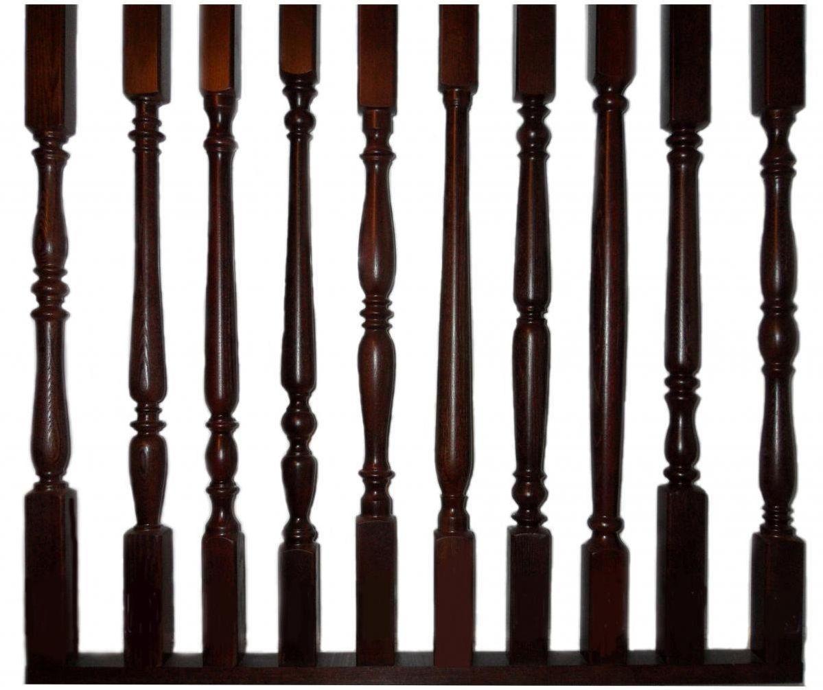 Балясины для лестницы из дерева купить в Екатеринбурге - Treelogia
