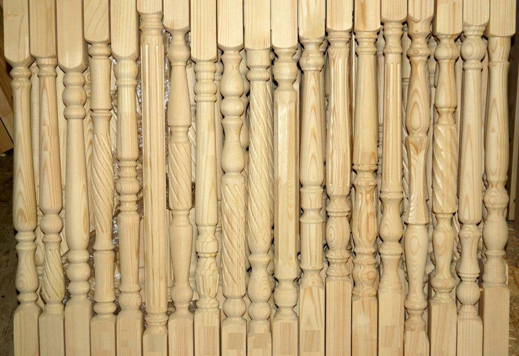 Деревянные балясины для лестниц купить в Екатеринбурге - Treelogia