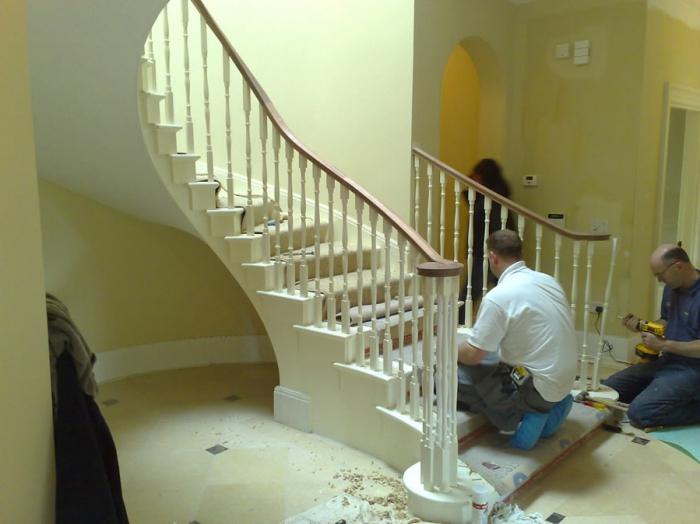 Заказать лестницу в частный дом в Екатеринбурге и области